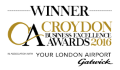 Croydon business awards winner logo
