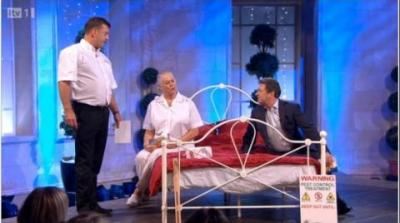 Paul Bates on the Alan Titchmarsh show